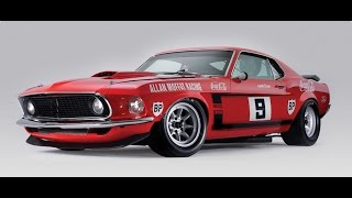 Moffat 1969 Trans Am Mustang in-car footage. Fantastic noise!