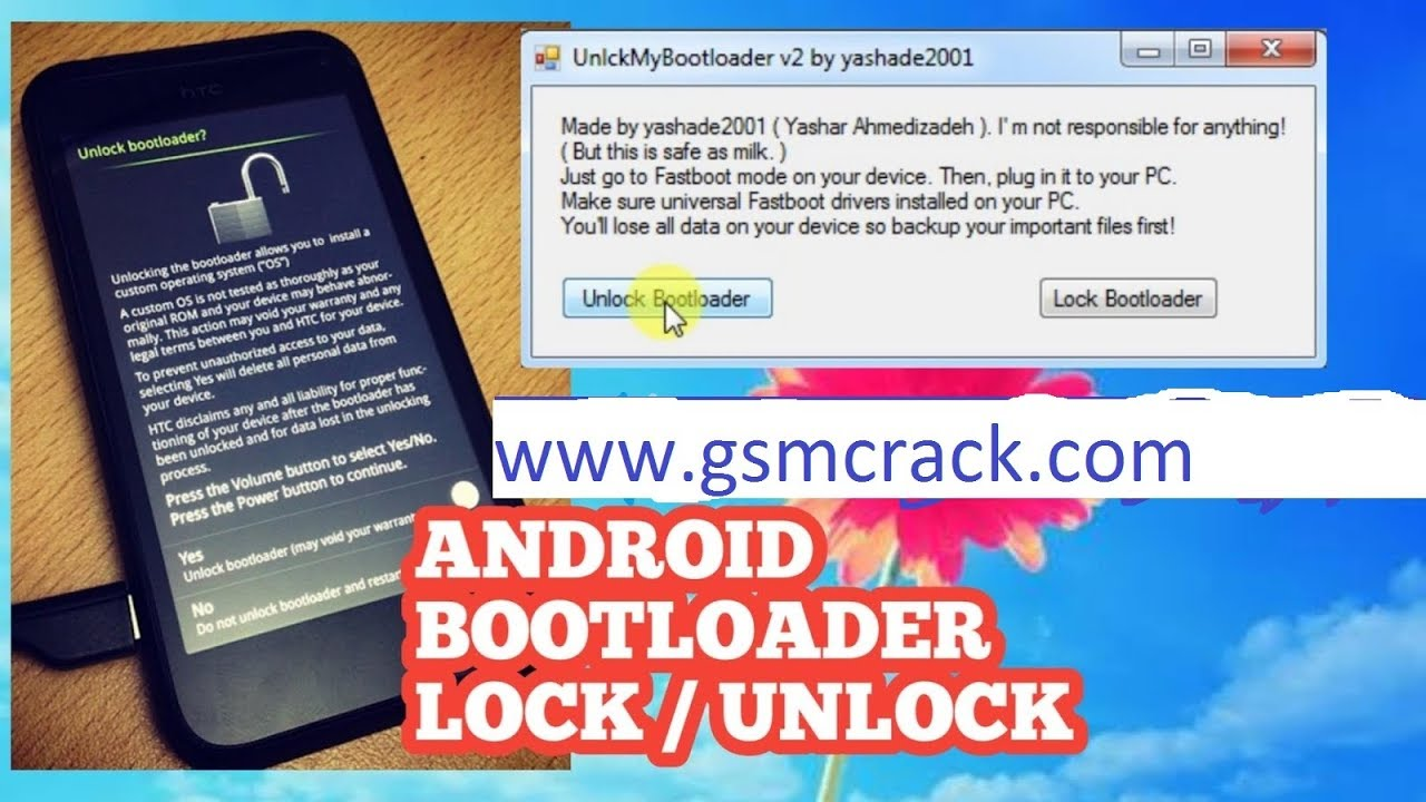 Android Bootloader UNLOCK TOOL New (Fastboot & Adb) - YouTube
