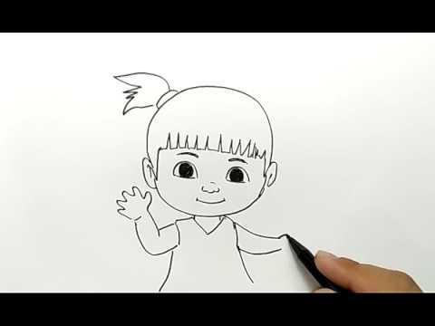 Cara Menggambar Adel Dari Kartun Adit Sopo Jarwo Youtube