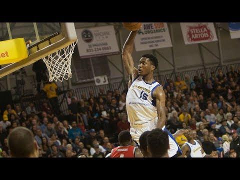 Damian Jones Pre-Showcase NBA G League Season Highlights