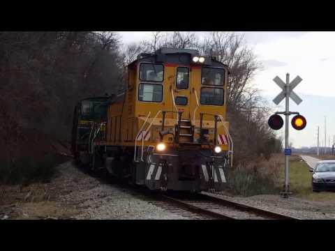 Central Midland Railway trains in Chesterfield, Missouri - Part 2