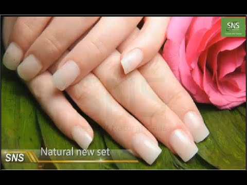 SNS Nail: How to Do Natural Set Dipping Powder