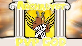 The Tale of Archalyst | PVP GOD | ROBLOX BOOGA BOOGA