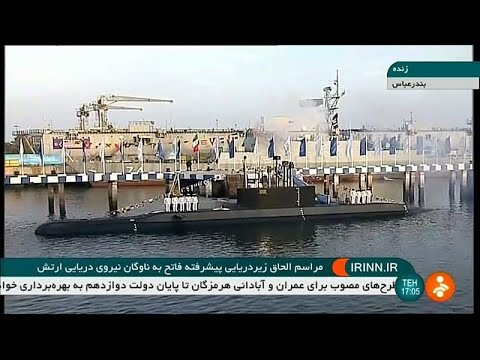 شاهد: الرئيس الإيراني يدشن غواصة جديدة محلية الصنع مزودة بصواريخ كروز…  - نشر قبل 3 ساعة