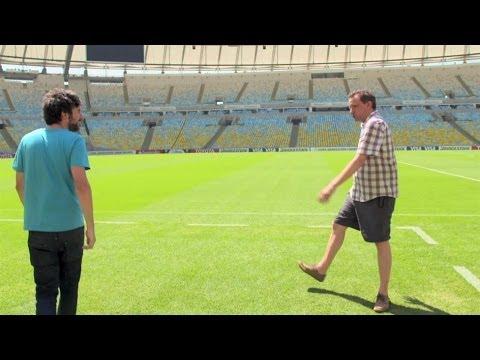 Visiting Maracanã Stadium | Road To Rio
