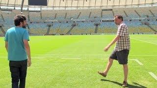 Visiting Maracanã Stadium   Road To Rio