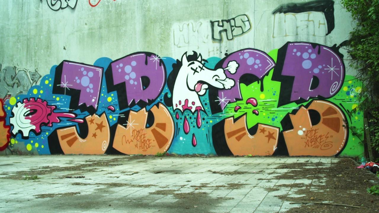 Hello My Name Is German Graffiti Trailer