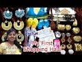 Shopping Haul in Tamil / Saravana Stores Shopping Haul / First Shopping Haul by Karthikha Channel