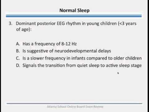 Are You Ready for the Pediatric Questions on the Sleep Medicine ...