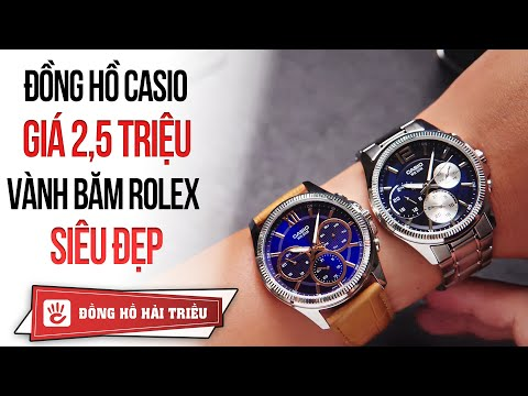 Review đồng Hồ Casio MTP Giá 2,5 Triệu Vành Băm Tuyệt đẹp