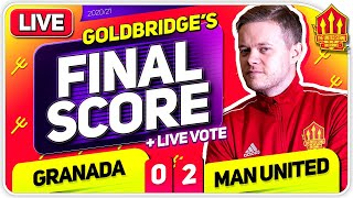 GOLDBRIDGE! Granada 0-2 Manchester United Match Reaction