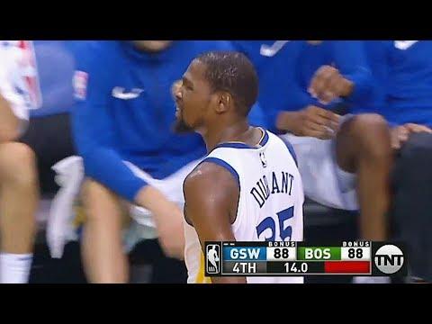 Kevin Durant Misses Game Winner vs Celtics! Boston Celtics vs Golden State Warriors