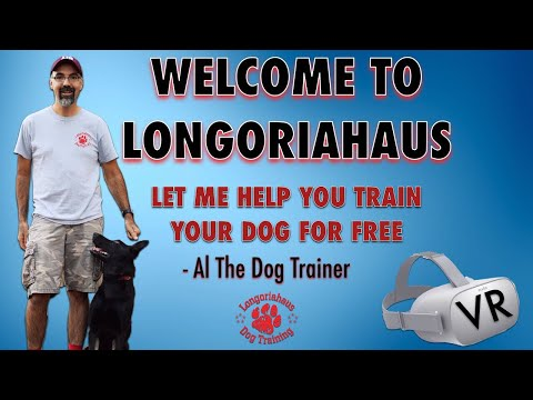 Welcome To Longoriahaus- Let me Help You Train Your Dog For FREE