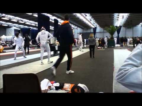Clement SCHREPFER - Jonathan BONNAIRE (32ème de finale) FOUSSARD 2012 (Partie 1/2)