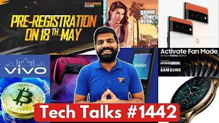 Tech-gesprekke # 1442 - Battlegrounds Mobile India 18 Mei, M3 Pro 5G, Samsung Gaming Phone, GTA 5 AI