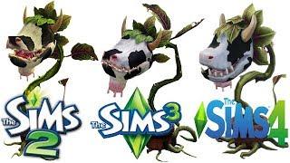 ♦ Sims 2 vs Sims 3 vs Sims 4 : CowPlants