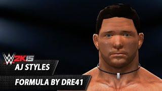 WWE 2K15: AJ Styles TCA Formule Par Dre41