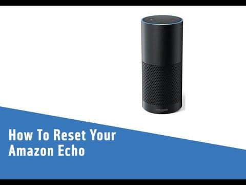 How To Reset Your Amazon Echo Youtube