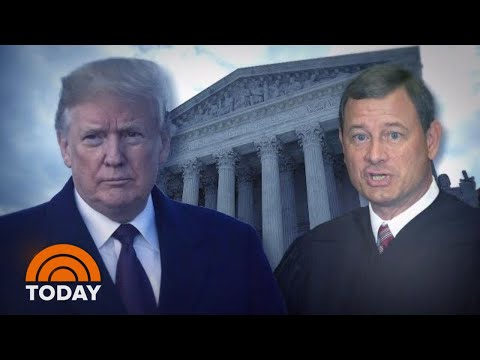 Chief Justice John Roberts Hit Back At President Donald Trump In Rare Rebuke | TODAY