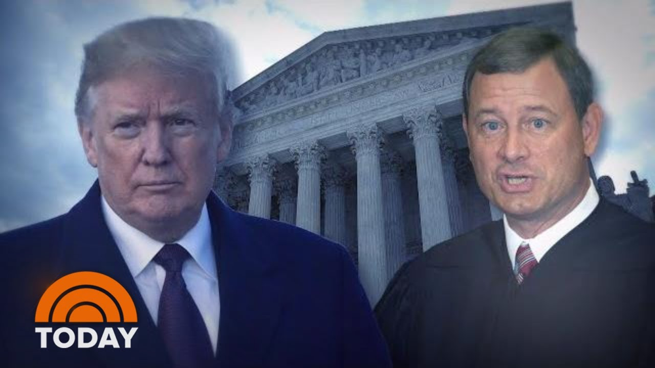 Supreme Court: Will Trump win or lose? With John Roberts, possibly ...