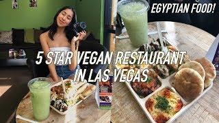 Eating At The BEST REVIEWED VEGAN RESTAURANT in Las Vegas! | 5 STARS
