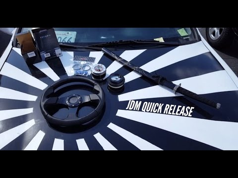 Buying a quick release steering wheel