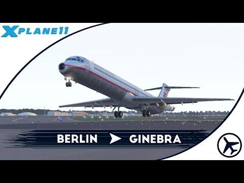 Que nos quedamos sin pista! | TXL - GVA | McDonnell Douglas MD-88 [Rotate] | XPlane 11