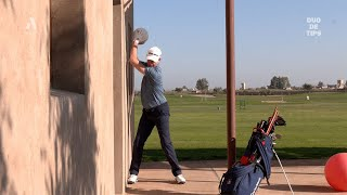 Duo de tips : élargir votre swing