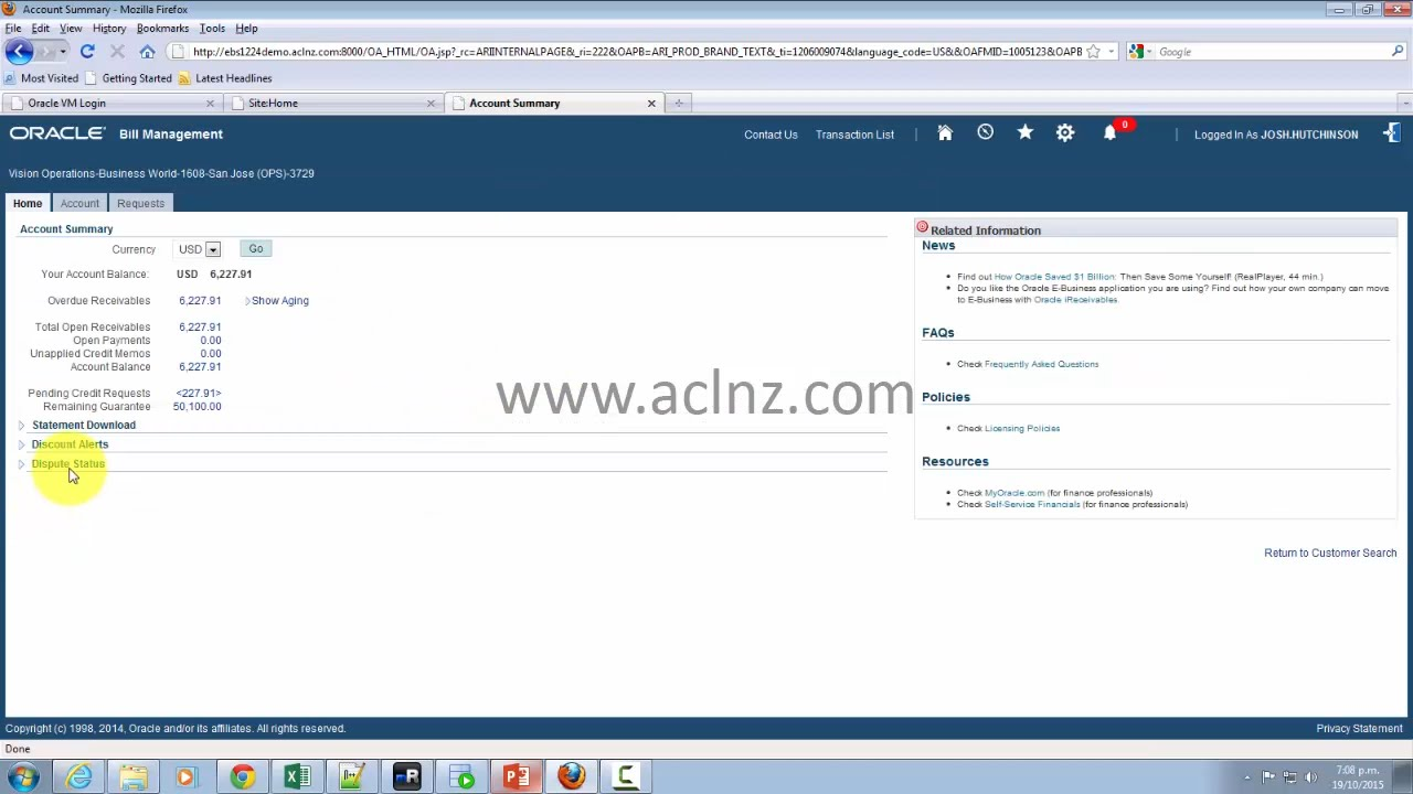 Overview of Oracle iReceivables (on Oracle EBS R12 2 4)