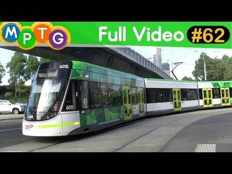 Melbourne's Metro/Vline Trains and Trams (Full video #62)