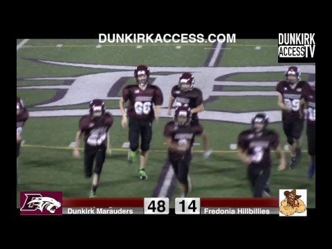 Dunkirk vs. Fredonia Modified League Football Sept. 15th 2018 Dunkirk, NY