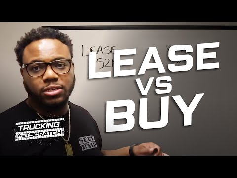 Trucking: Are There Tax Benefits to Leasing over Buying?