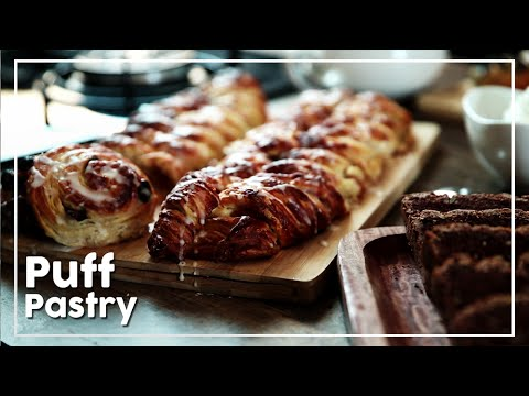 How To Make Puff Pastry - Famous Danish Pastry