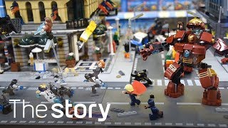 레고 시티(Lego City)에 어벤져스 출동! 취미가 직업이 된 사람들 part.1 - 하비인사이드(hobbyinside)