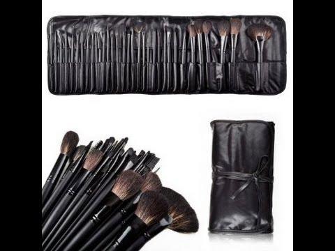 32 pcs makeup brush set uses