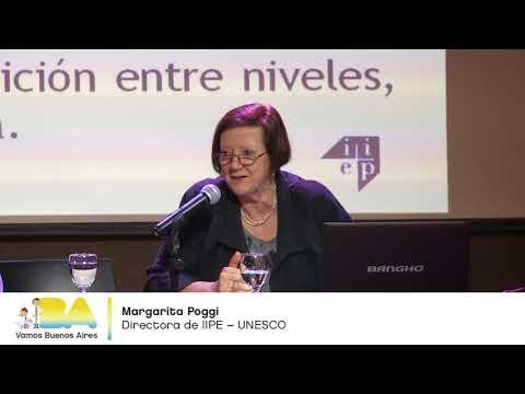 """<h3 class=""""list-group-item-title"""">Margarita Poggi - La transición del nivel Primario al nivel Secundario -  Seminario UEICEE</h3>"""