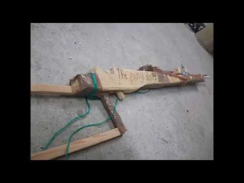 Homemade DIY Airsoft Gun, Easy and Powerful Rifle