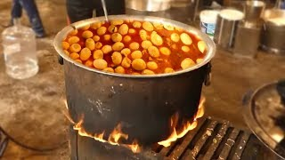 Mango Egg Curry Making for 500 People | Street Food