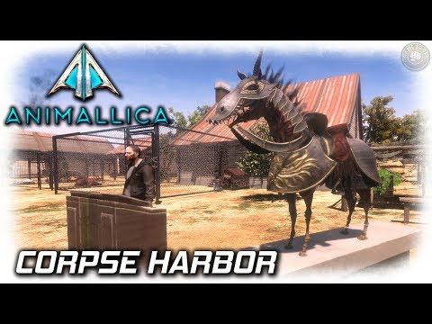 Animallica Open World Survival Game | Corpse Harbor Merchants | EP4 | Animallica Gameplay