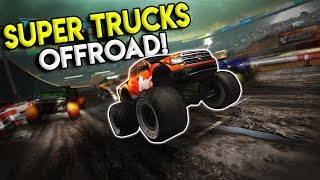 TOP DOWN OFFROAD MONSTER TRUCK RACING! - Super Trucks Offroad Gameplay - First Impression