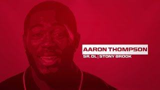 #CAAFB Game Day: Stony Brook - Aaron Thompson