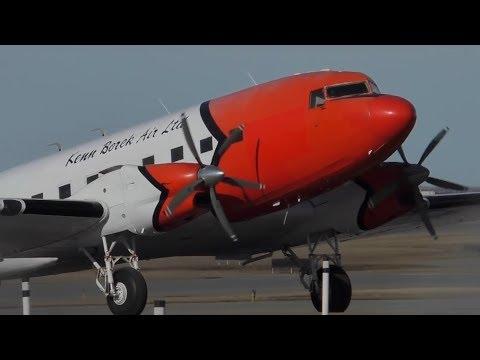 Kenn Borek Air Basler BT-67 (Turbine DC-3) [C-GKKB] at Calgary Airport ᴴᴰ