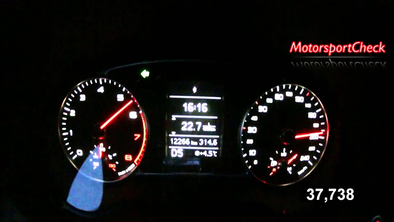 Audi A1 1,4 TFSI Acceleration Topsd - YouTube