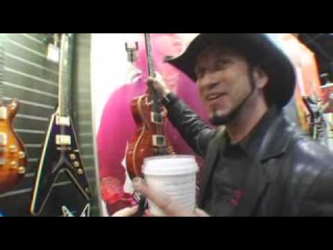 Tom Maxwell Of Hellyeah At Dean Guitars NAMM 2008
