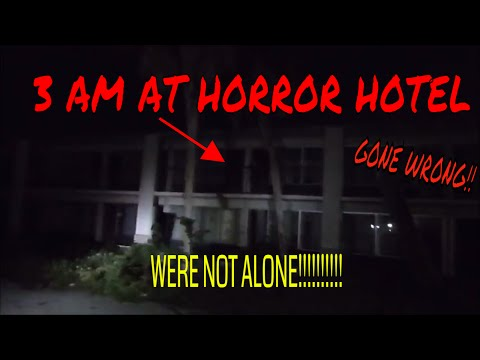 3 AM CHALLENGE (ABANDONED HOTEL) GONE WRONG!!!