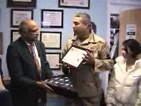 USA  Flag flown over IRAQ honors Neena Trust