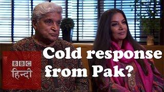 Shabana & Javed Akhtar on Pak's response to Indian artists (BBC Hindi)
