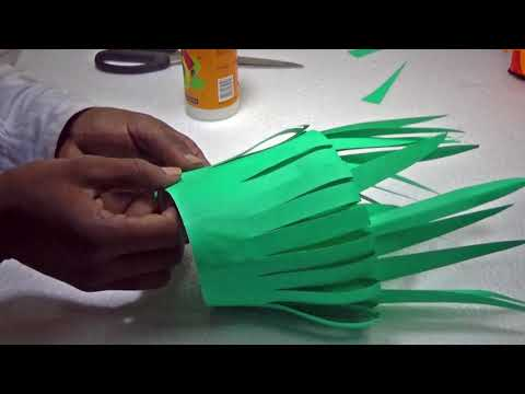 DIY Paper Flowers || Simple Learning For Children || By Kids Fun And Crafts Tv