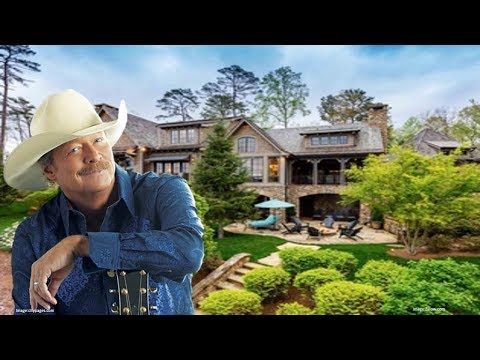 Country Musician Alan Jackson Georgia Mansion 2017 Photos