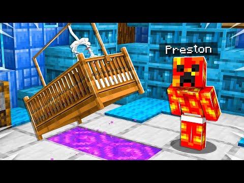 I Found Baby Preston's 3 Biggest SECRETS! - Minecraft